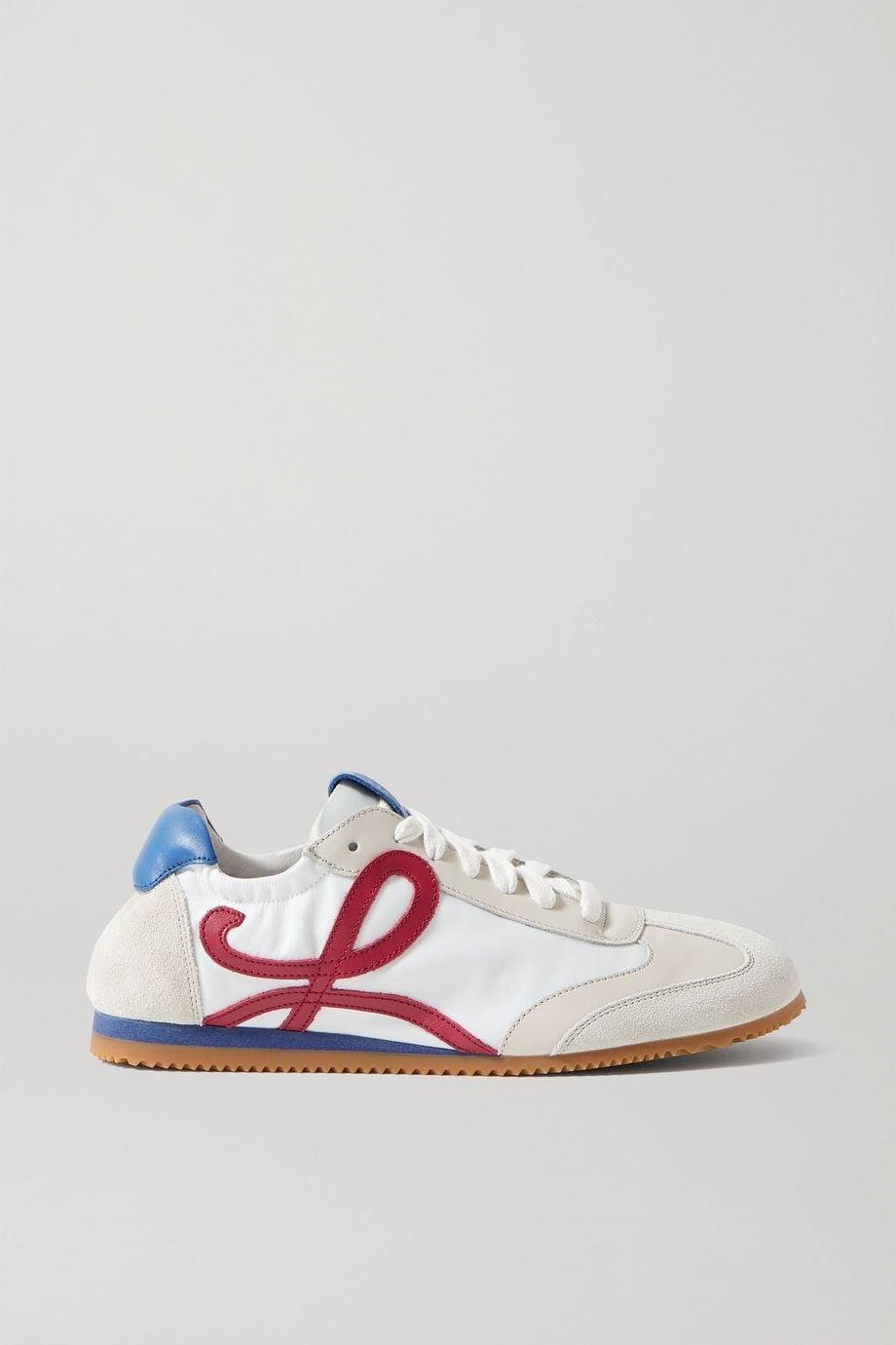 """<p><span>Loewe White Ballet Runner Shell</span> ($590)</p> <p>""""What can i say - they have my initial on them! These sneakers are an investment, but the quality and design can't be beat."""" - Lisa Sugar, president and founder, POPSUGAR</p>"""