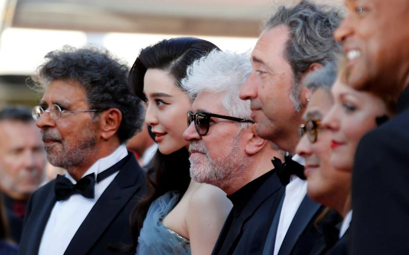70th Cannes Film Festival: Jury President, Director Pedro Almodovar, and Jury members Maren Ade, Jessica Chastain, Fan Bingbing, Agnes Jaoui , Park Chan-wook, Will Smith, Paolo Sorrentino and Gabriel Yared - REUTERS