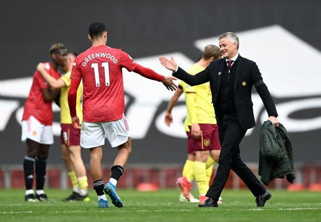Ole Gunnar Solskjaer has backed Mason Greenwood to shine for years to come