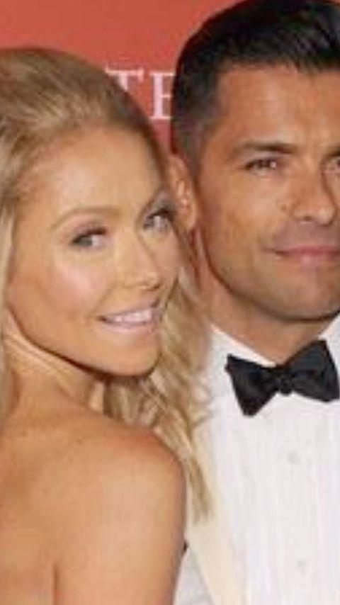 <p>The <em>Live with Kelly and Ryan</em> host shared a nearly three-minute-long montage of family moments with her husband Mark Consuelos on Instagram. </p>