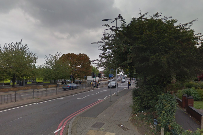The 14-year-old was rushed to hospital after the crash: Google