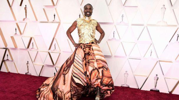 PHOTO: Billy Porter arrives at the Oscars, Feb. 9, 2020, at the Dolby Theatre in Los Angeles. (Jordan Strauss/Invision/AP)