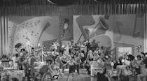 <p>Dandridge joined Louis Armstrong for a vaudeville act titled <em>Harlem on Parade </em>in 1960.</p>