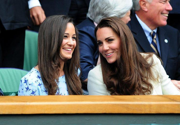 <i>The Duchess of Cambridge flew to Pippa Middleton's secret hen do last month [Photo: PA]</i>
