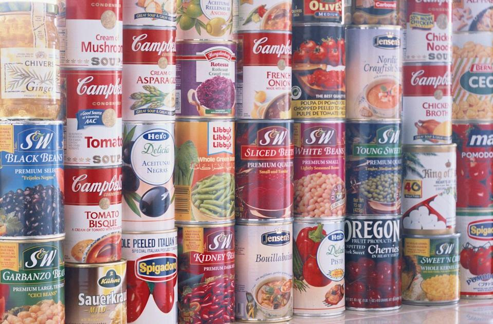 <p>Freezing canned foods or beverages is a no-go. When the liquid inside freezes, the can will expand and likely explode, leaving you with a big mess to clean up.</p>
