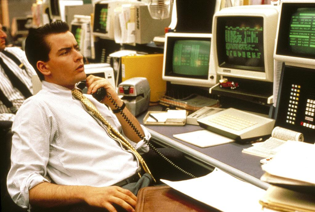 "<a href=""http://movies.yahoo.com/movie/1800133279/info"">Wall Street</a> (1987): Sheen reunites with Stone for a movie that could not be more reflective of its place and time. He stars as Bud Fox, an ambitious, young stockbroker who's willing to do whatever he must to get to the top. Again, he's torn between two influential men: Michael Douglas in his Oscar-winning role as the greedy Gordon Gekko and Martin Sheen who's also playing his on-screen father, a union leader who taught Bud to respect his blue-collar upbringing. Bud is intoxicated by his lavish new lifestyle but -- on screen, at least -- eventually develops a conscience. Sheen reprised the role in a cameo last year in Stone's sequel, ""Wall Street: Money Never Sleeps."" It ... was a bit awkward."