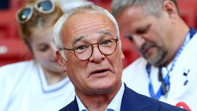 Claudio Ranieri's first game in charge of Sampdoria will be against Roma - the previous club he coached - on October 20.