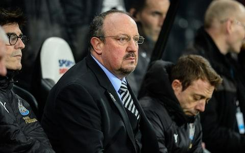 <span>Newcastle fans are desperate to keep hold of Rafa Benitez</span> <span>Credit: &nbsp;Serena Taylor </span>