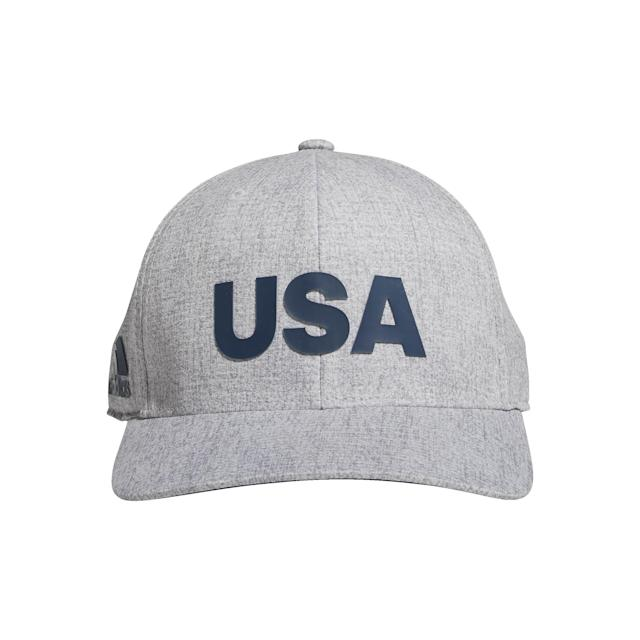 "<p>Part of the company's new USA Golf Collection, this hat is perfect for the Fourth of July but is simple enough to be worn all summer long. Adidas recently became the official uniform provider of USA Golf for 2020, so keep an eye out for more cool patriotic pieces from this line.</p> <p><strong><a href=""https://www.adidas.com/us/heathered-usa-hat/DN4252.html"" rel=""nofollow noopener"" target=""_blank"" data-ylk=""slk:adidas.com"" class=""link rapid-noclick-resp"">adidas.com</a></strong>/$32</p>"