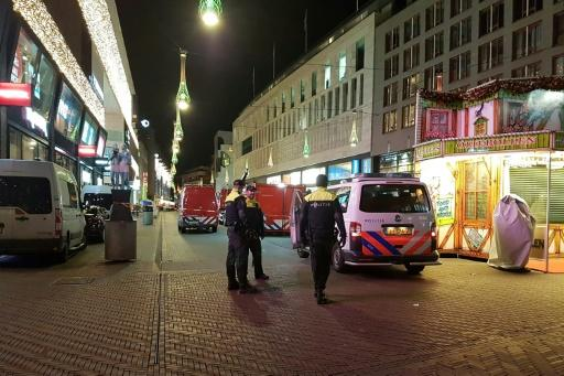 The attack took place in Grote Marktstraat, the city's biggest shopping area