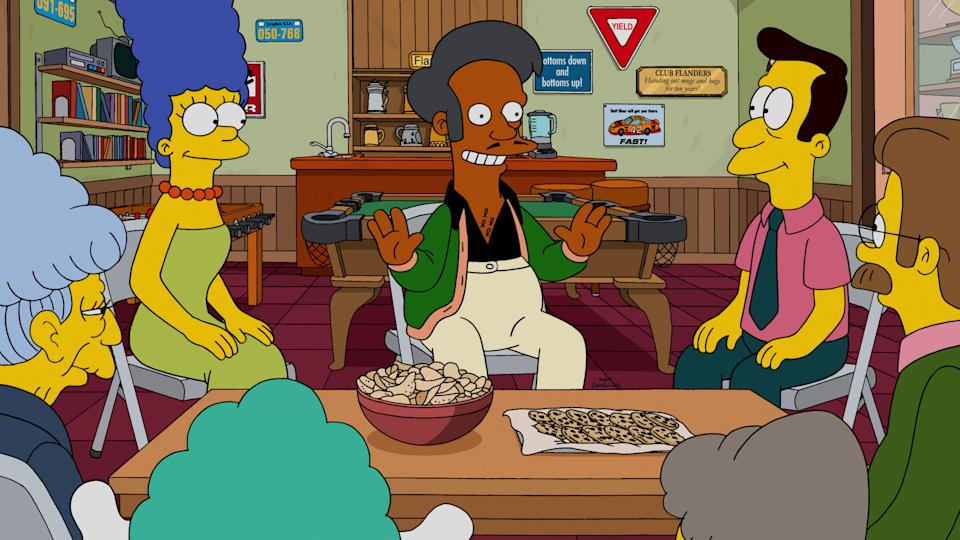 Hank Azaria voiced the character of Apu Nahasapeemapetilon for nearly thirty years on 'The Simpsons' (Photo: 20th Century Fox Film Corp./Courtesy Everett Collection)