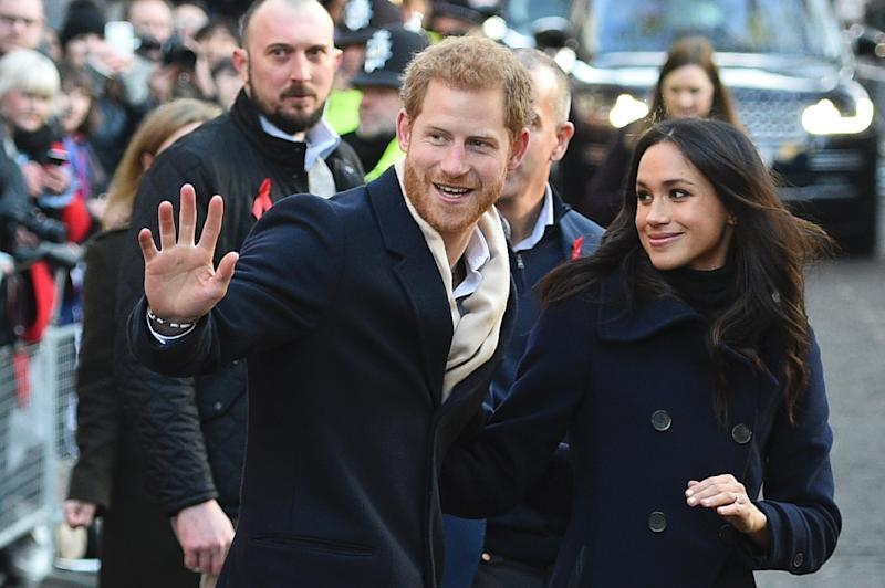 When their relationship was first revealed in 2016, Harry issued a strongly-worded statement against media harassment of his mixed-race girlfriend