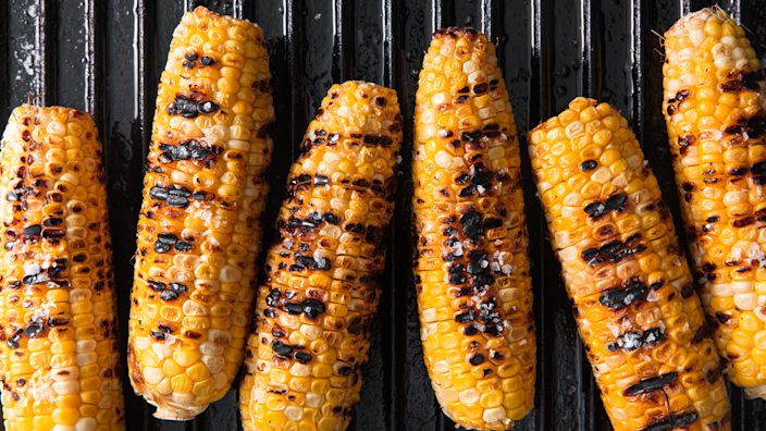 """<p>Not just for 4th of July!</p><p>Get the recipe from <a href=""""https://www.delish.com/cooking/recipe-ideas/a19637515/best-grilled-corn-on-the-cob-recipe/"""" rel=""""nofollow noopener"""" target=""""_blank"""" data-ylk=""""slk:Delish"""" class=""""link rapid-noclick-resp"""">Delish</a>.</p>"""