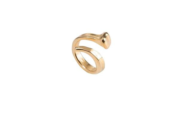 "<p>B12 gold-plated ring, $125, <a href=""https://www.unode50.com/us/rings-b12-gold-ani0456oro000"" rel=""nofollow noopener"" target=""_blank"" data-ylk=""slk:unode50.com"" class=""link rapid-noclick-resp"">unode50.com</a> </p>"