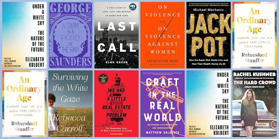"""<p class=""""body-dropcap"""">Nothing expands the mind—or the heart—quite like a superb work of nonfiction. But if you hear """"nonfiction"""" and think """"dry as a bone,"""" don't get it twisted. Nonfiction doesn't have to feel like homework—in fact, the very best of it can be just as much of a page-turner as a thriller. Our favorite nonfiction of the year encompasses everything from reporting on the global climate crisis to literary essays about motorcycles. This list has true crime, memoirs about identity, and firmament-shattering works that know no boundaries. No matter what your nonfiction niche is, there's something for everyone here. Watch this space for updates, as we'll be expanding our list throughout the year. </p>"""