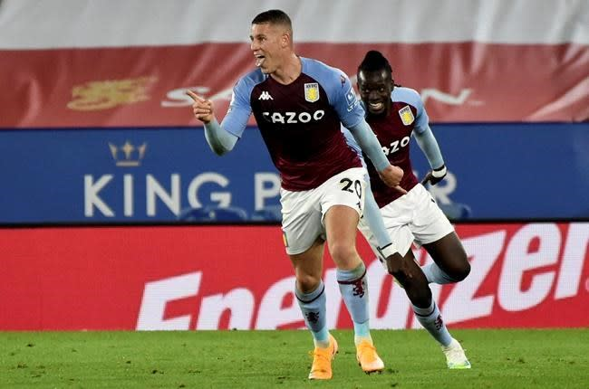 Barkley scores in stoppage time as Villa beats Leicester 1-0