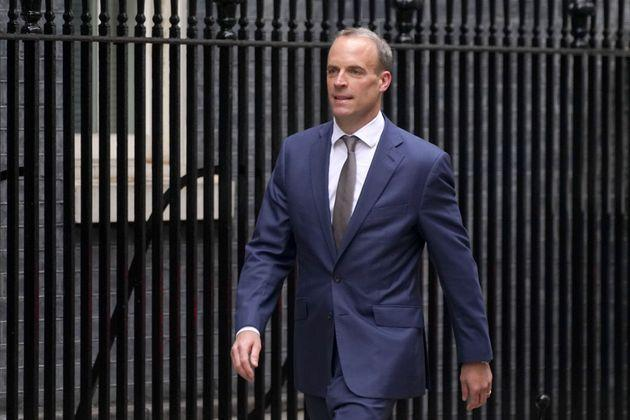 Raab is now the deputy PM, justice secretary and lord chancellor (Photo: Stefan Rousseau - PA Images via Getty Images)