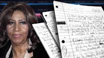 "<p>Aretha Franklin left behind multiple wills that were just discovered inside a locked box hidden in her home, and now the estate is unclear what exactly was left behind by the late singer. According to court documents obtained by The Blast, the head of Franklin's estate, Sabrina Owens, informed the judge she found the singer's […]</p> <p>The post <a rel=""nofollow noopener"" href=""https://theblast.com/aretha-franklin-secret-handwritten-will-locked-box/"" target=""_blank"" data-ylk=""slk:Read Aretha Franklin's Secret Handwritten Wills After Lock Box Discovery"" class=""link rapid-noclick-resp"">Read Aretha Franklin's Secret Handwritten Wills After Lock Box Discovery</a> appeared first on <a rel=""nofollow noopener"" href=""https://theblast.com"" target=""_blank"" data-ylk=""slk:The Blast"" class=""link rapid-noclick-resp"">The Blast</a>.</p>"
