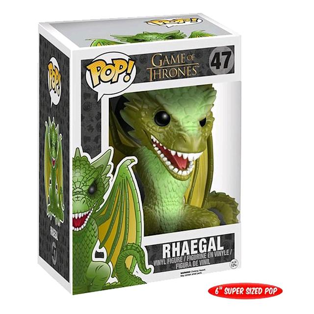 <p>Rhaegal is the ultimate negotiating tool; when she brings the heads of the ruling families of Mereen to meet the dragons, Rhaegal eats one of them. </p>