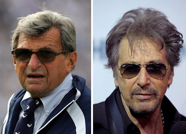 Report: Al Pacino to play Joe Paterno in HBO movie about Penn State scandal