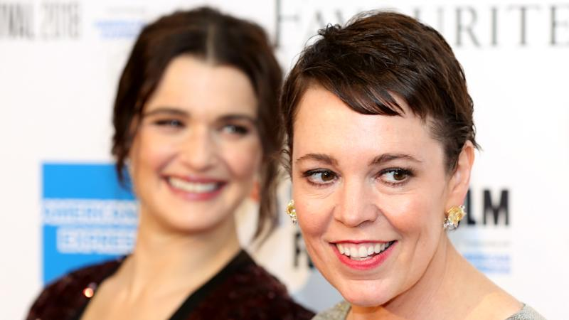 The Favourite's Weisz and Colman back gay rights on Baftas red carpet