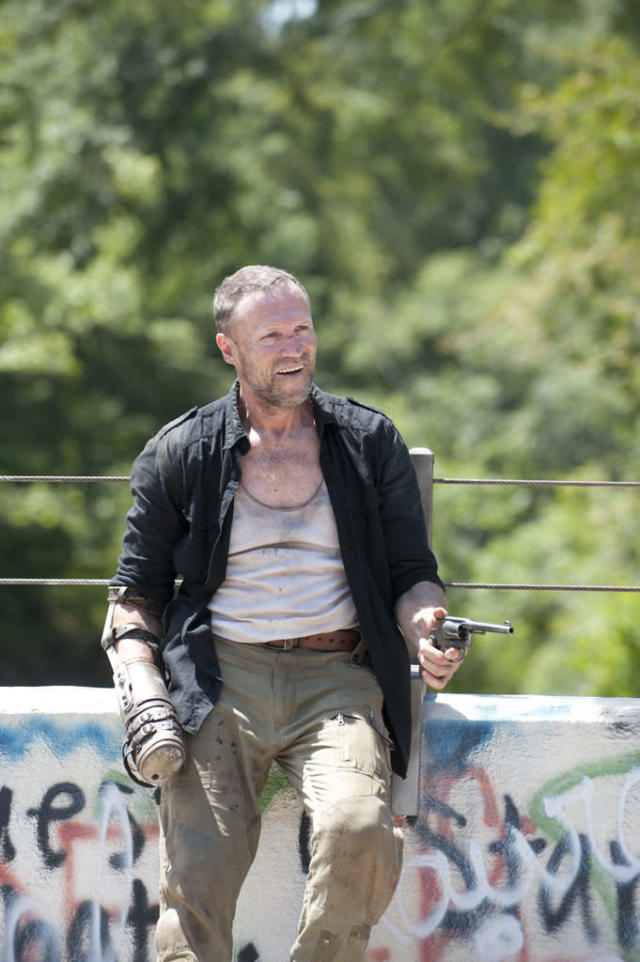 "Merle Dixon (Michael Rooker) in ""The Walking Dead"" episode, ""Home."""