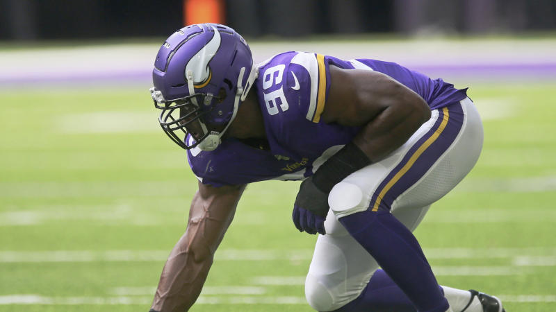 Danielle Hunter will miss at least three games. (AP Photo/Jim Mone)