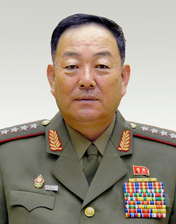 North Korean Defense Minister, Hyon Yong-Chol, pictured in Pyongyang, in September 2014