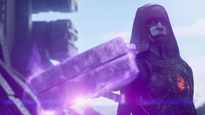 Lee Pace as Ronan in Guardians of the Galaxy
