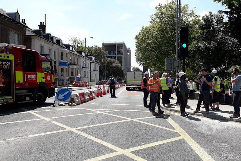 WW2 bomb found: Kingston residents 'to be allowed back into their homes this afternoon at the earliest,' say police