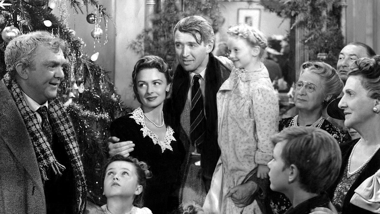 "'It's a Wonderful Life' – It doesn't get any more classic than Frank Capra's 1946 tale of down-on-his-luck family man George Bailey (James Stewart) and his guardian angel Clarence Odbody. Though it may feel old fashioned and overly-sentimental at times, ""It's a Wonderful Life"" has aged much more gracefully than most Hollywood films of the era, thanks in large part to Stewart's memorable performance as the selfless everyman Bailey and the deep (and sometimes dark) themes the film deals with. Almost 70 years after it was made, ""It's a Wonderful Life"" continues to be a classic holiday standard for people around the world."