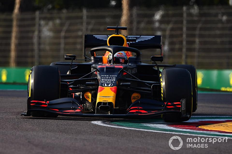 "Max Verstappen, Red Bull Racing RB16<span class=""copyright"">Mark Sutton / Motorsport Images</span>"