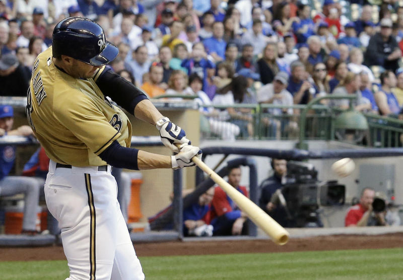 Braun leads Brewers to 11-5 win over Cubs