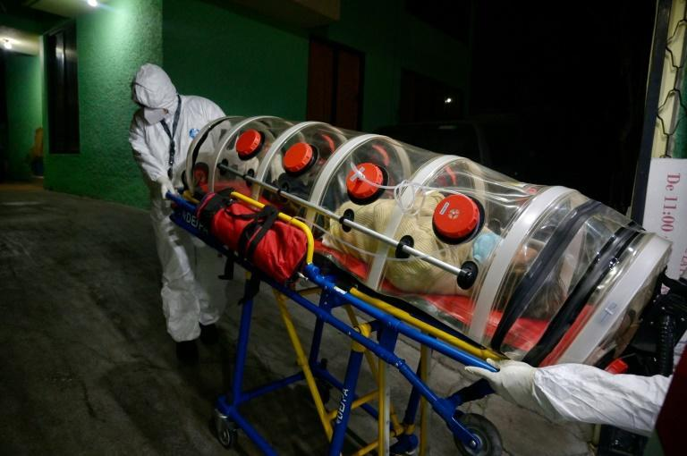 Mexican paramedics now sometimes have to spend several hours finding a hospital with room for coronavirus patients