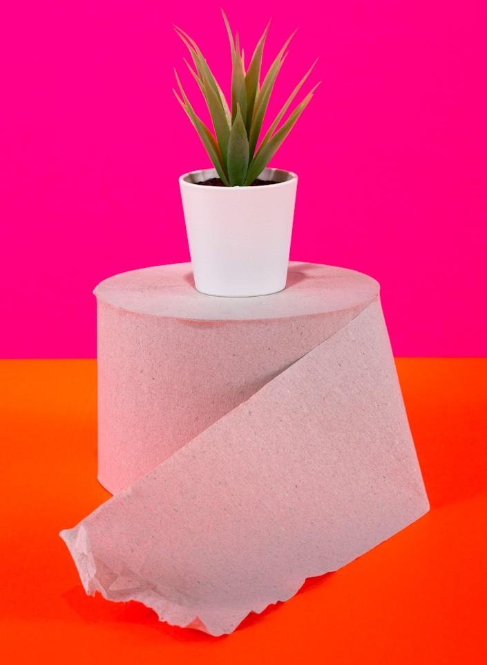 While regular ol' toilet paper might break down more easily than wipes and won't usually pose a threat to pipes, it's still not great for the environment. (Photo: I_Valentin via Getty Images)