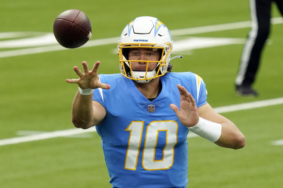 Los Angeles Chargers quarterback Justin Herbert