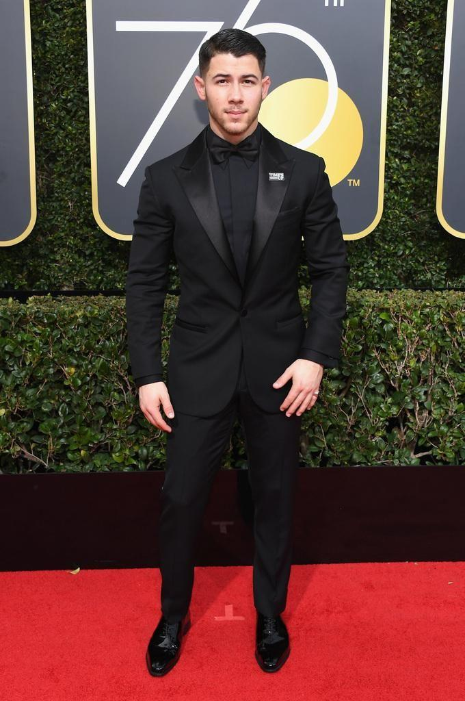 Singer Nick Jonas celebrates The 75th Annual Golden Globe Awards with Moet & Chandon at The Beverly Hilton Hotel. Source: Getty