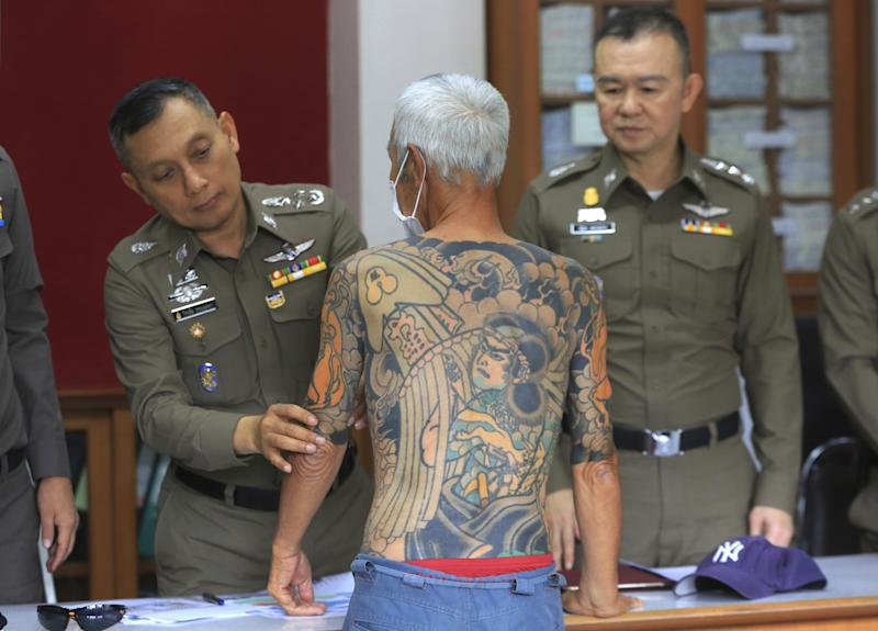Viral Tattoo Photos Lead to Arrest of Fugitive Yakuza Member
