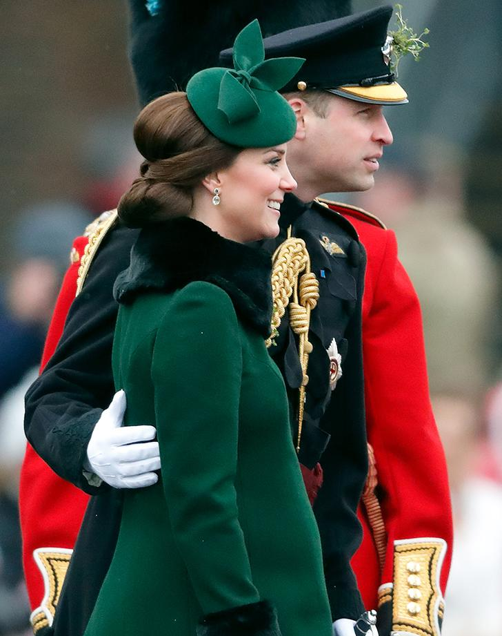 Prince William and Kate Middleton engage in PDA during Saint Patrick's Day