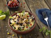<p>Get this: You can add QDOBA's famous queso and fresh-made guacamole to your entrée <em>for free</em>. Finally, a place that gives the people what their heart desires at no extra charge. The best item on the menu is the Chicken Queso Bowl which features adobo chicken, cilantro lime rice, black beans, corn salsa, and pico de gallo, all topped with their signature 3-cheese queso. </p>