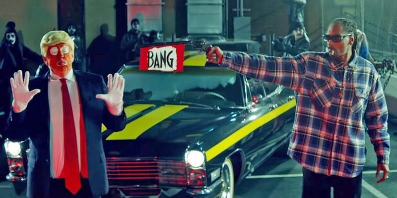 Quand Snoop Dogg flingue Trump le clown