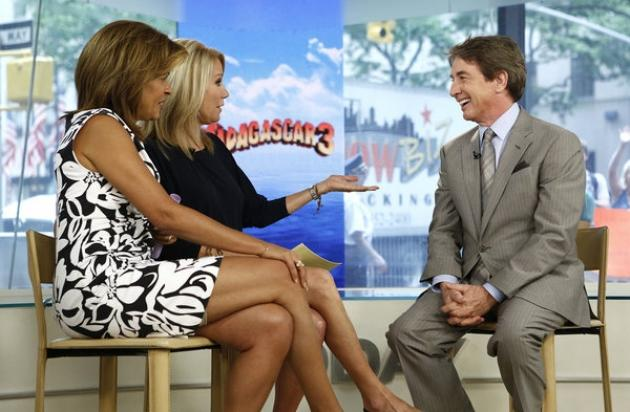 Hoda Kotb and Kathie Lee Gifford interview Martin Short on 'Today,' May 30, 2012 -- NBC