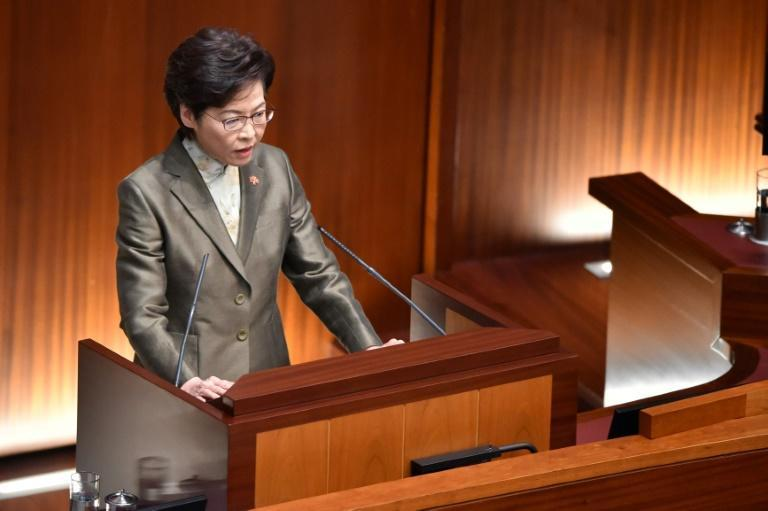 Chief executive Carrie Lam's annual policy address to the city's legislature outlines the administration's plans for the city