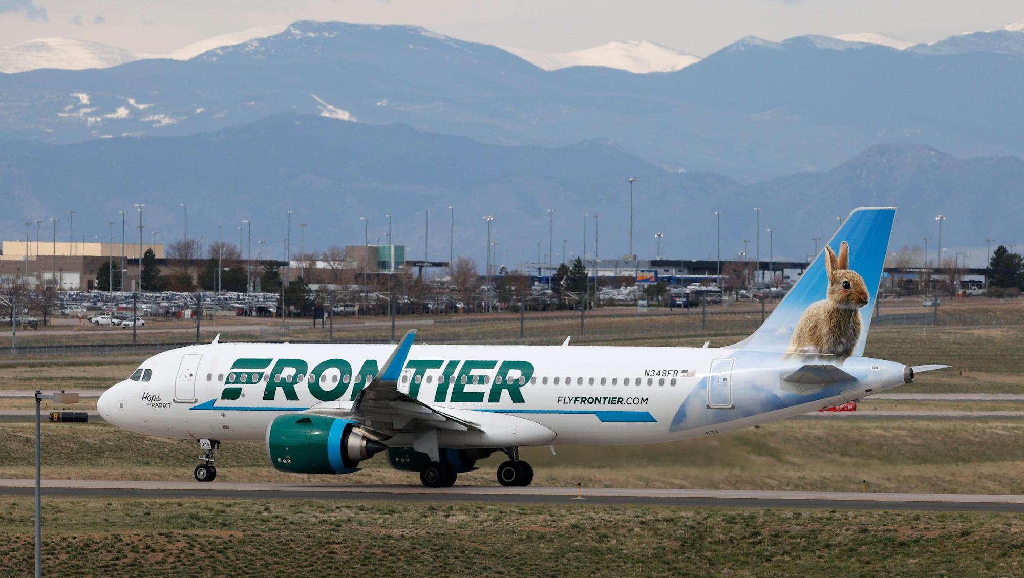 Passenger taped to seat after allegedly groping, punching Frontier Airlines crew