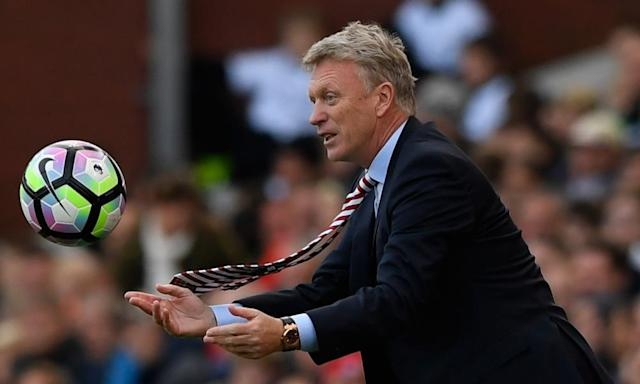"<span class=""element-image__caption"">David Moyes will be handed the opportunity to rebuild Sunderland next season, even if they are relegated to the Championship.</span> <span class=""element-image__credit"">Photograph: Stu Forster/Getty Images</span>"
