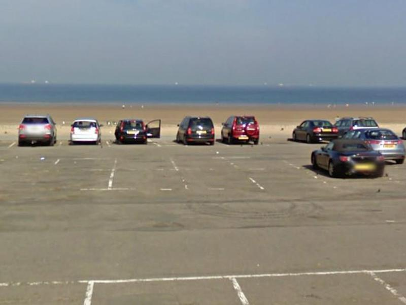 The woman was abducted as she walked along the Redcar seafront with her toddler: Google Maps