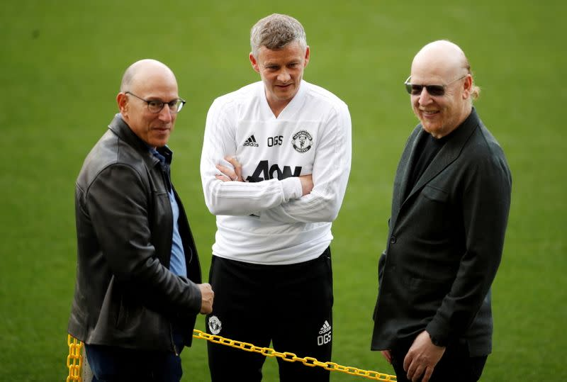 FILE PHOTO: Champions League - Manchester United Training