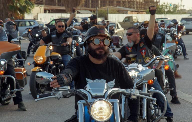Before the revolt that put an end to decades of dictatorship under Moamer Kadhafi, the bikers say they were 'marginalised'