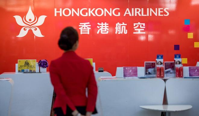 The future of thousands of jobs at Hong Kong Airlines has been hanging in the balance. Photo: Bloomberg