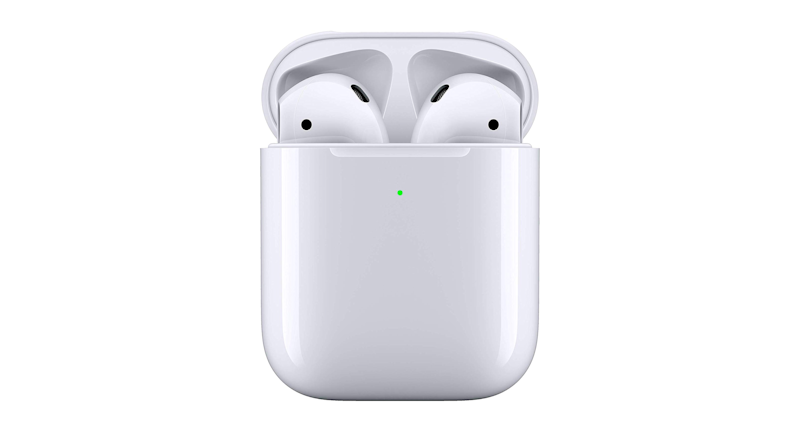 Apple AirPods with Wireless Charging Case (Credit: Amazon)